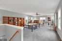 Huge bonus room with rear staircase to kitchen - 13890 LEWIS MILL WAY, CHANTILLY