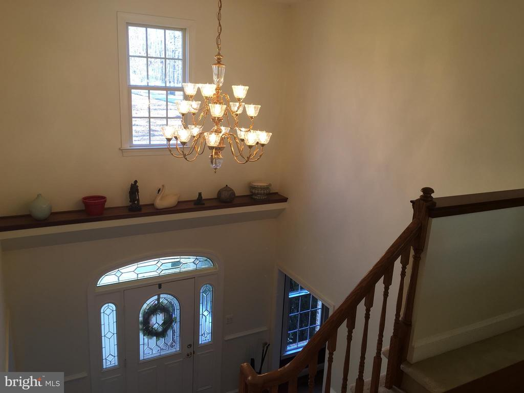 Two-story foyer - 6142 WALKER'S HOLLOW, LOCUST GROVE