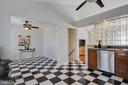 Ceiling fans in kitchen & dining area - 5 FAIRFIELD CT, STAFFORD