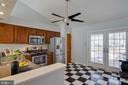 Bright open kitchen - 5 FAIRFIELD CT, STAFFORD