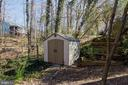 Shed for extra storage - 5 FAIRFIELD CT, STAFFORD