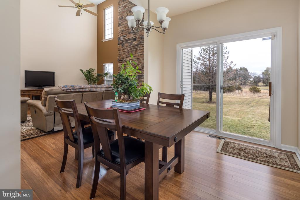 Beautiful views from kitchen/eat-in area - 11108 STAINSBY CT, BRISTOW