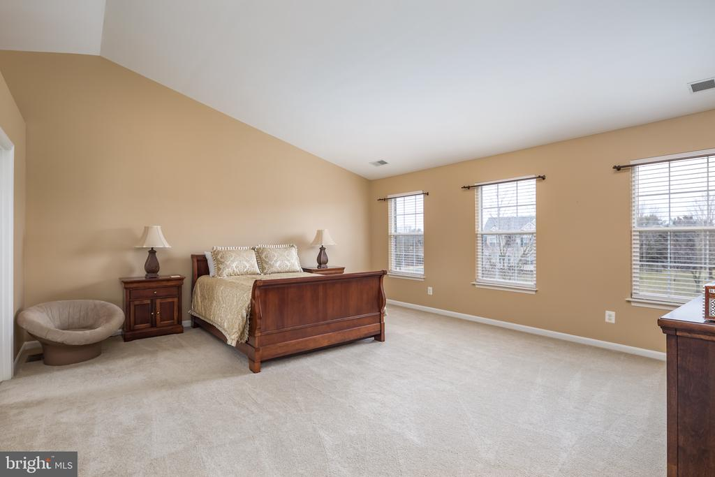 Huge master suite with vaulted ceilings - 11108 STAINSBY CT, BRISTOW