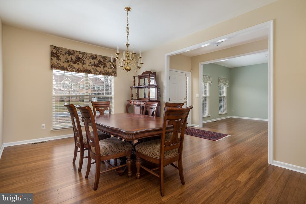Spacious formal dining room - 11108 STAINSBY CT, BRISTOW