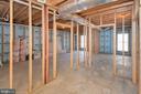 Basement ready for more rooms - 20466 LITTLE LIGNUM WAY, LIGNUM