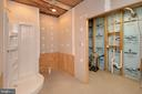 Basement Bathroom partially finished - 20466 LITTLE LIGNUM WAY, LIGNUM
