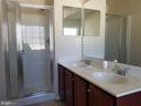 Double Vanities in Owner's Bath - 102 SANDPIPER TER, STAFFORD