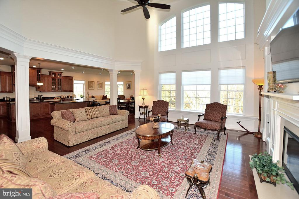 FAMILY ROOM - 42072 MANSFIELD PARK CT, CHANTILLY
