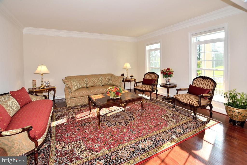 LIVING ROOM - 42072 MANSFIELD PARK CT, CHANTILLY