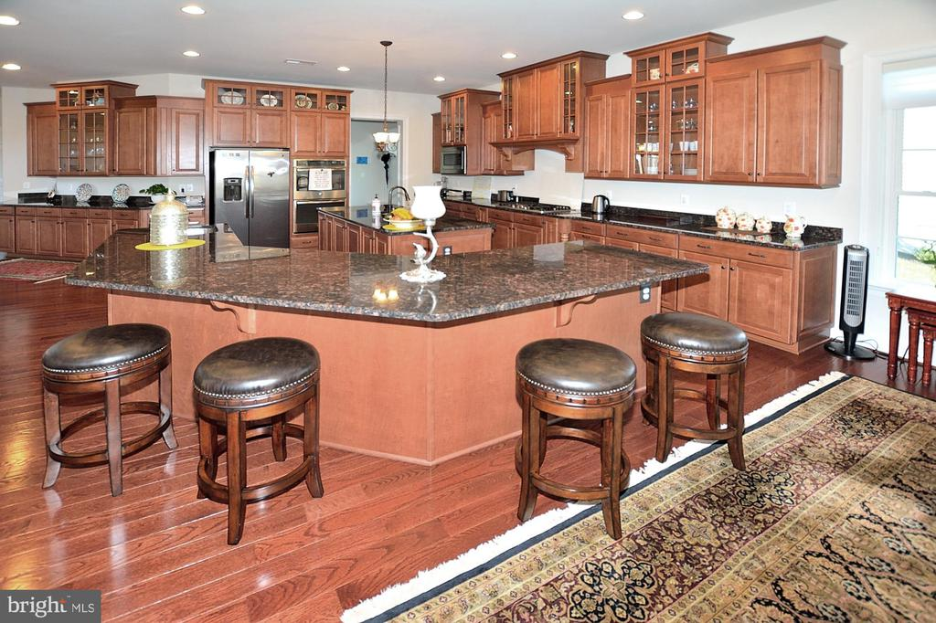 KITCHEN INCLUDES BREAKFAST BAR - 42072 MANSFIELD PARK CT, CHANTILLY