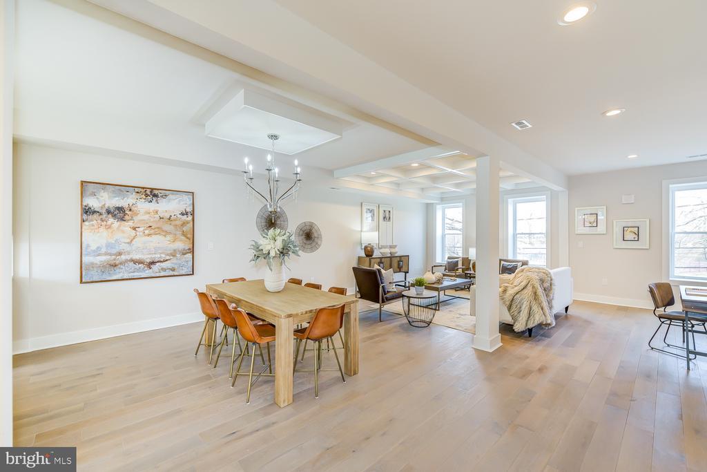 Open Floor Plan - 4324 14TH ST NW #UNIT 2, WASHINGTON