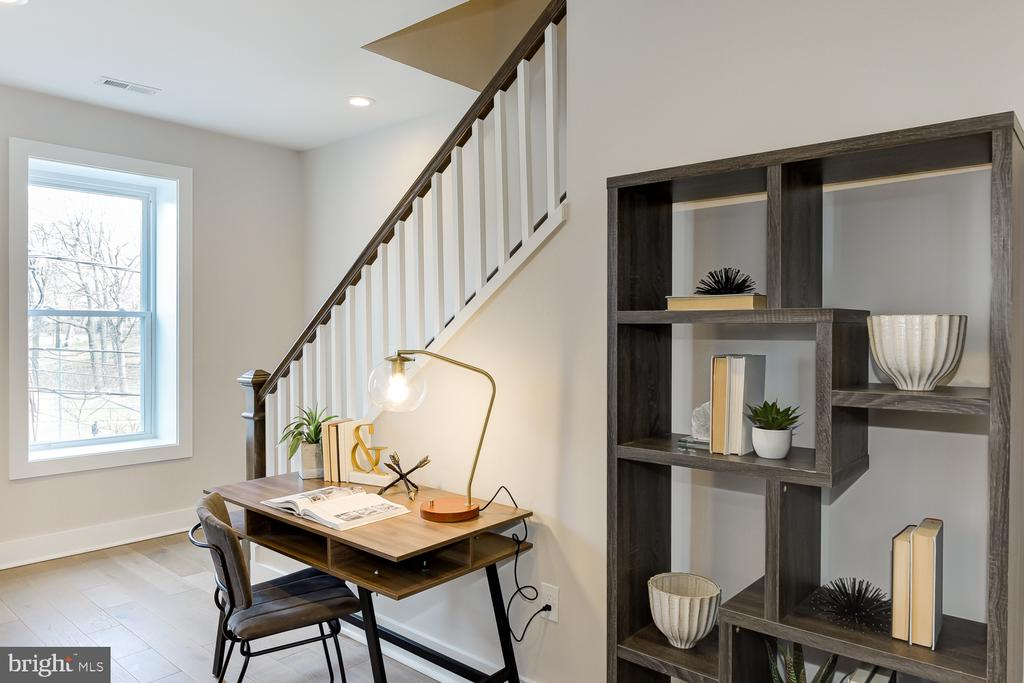 Stairs going up to bedrooms - 4324 14TH ST NW #UNIT 2, WASHINGTON