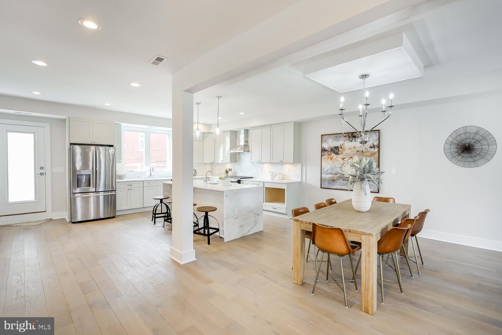 Dining / Kitchen - 4324 14TH ST NW #UNIT 2, WASHINGTON