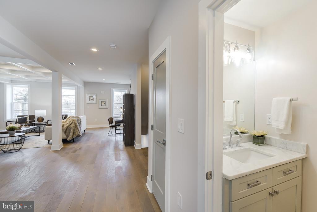 Half Bathroom - 4324 14TH ST NW #UNIT 2, WASHINGTON