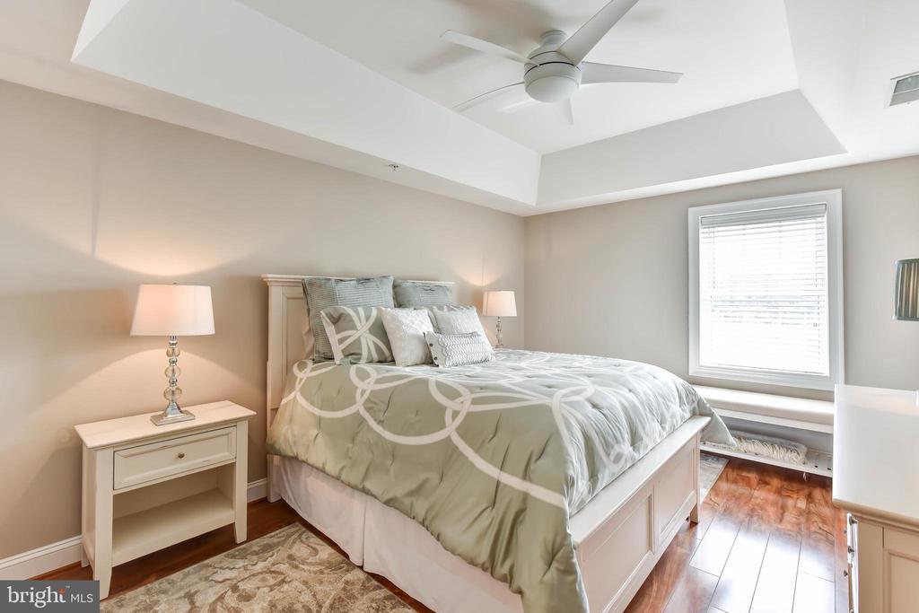 Master Bedroom with Wood Floors - 6301 EDSALL RD #621, ALEXANDRIA