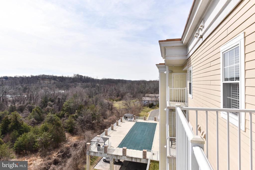 View from Balcony - 6301 EDSALL RD #621, ALEXANDRIA