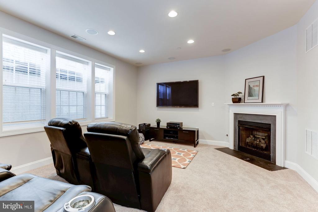 Lower Level - Second Family Room - 3910 MADISON MEWS, FAIRFAX