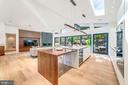 Kitchen - Living - 2908 ELLICOTT ST NW, WASHINGTON