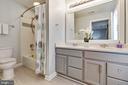 Master bathroom w/ double sinks - 906 HARRISON CIR, ALEXANDRIA
