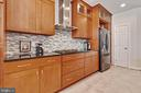 Gorgeous open kitchen - 906 HARRISON CIR, ALEXANDRIA