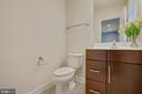 Lower Level powder room - 6255 CASDIN DR, ALEXANDRIA