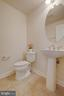 Main level powder room off living room - 6255 CASDIN DR, ALEXANDRIA