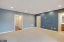 Basement w/ powder room and walk-in closet - 6255 CASDIN DR, ALEXANDRIA