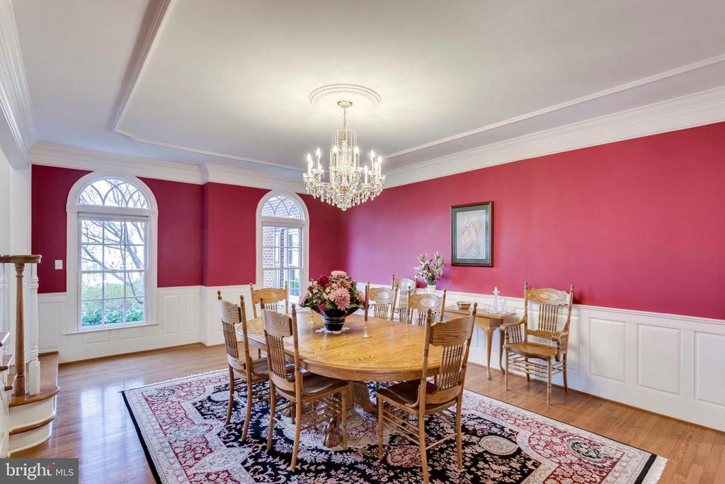 Formal dining room - 1075 CEDAR CHASE CT, HERNDON