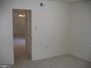 View from bedroom towards hallway - 125 S CLUBHOUSE DR SW #8, LEESBURG