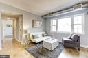 Living room - 1315 N ODE ST #722, ARLINGTON