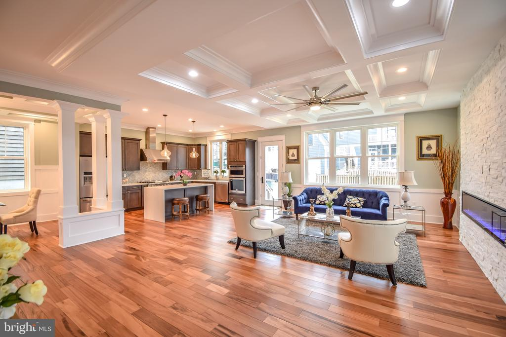 Open floor plan - 1812 N BARTON ST, ARLINGTON