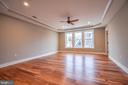 Owners Suite with Tray Ceilings - 1812 N BARTON ST, ARLINGTON