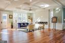 Family room with loads of light - 1812 N BARTON ST, ARLINGTON