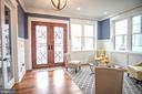 Bright foyer and formal living room - 1812 N BARTON ST, ARLINGTON