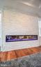 Fireplace with color changing - 1812 N BARTON ST, ARLINGTON