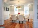 Elegant Dining Area - 1812 N BARTON ST, ARLINGTON