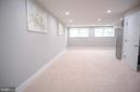 Living area basement - 1812 N BARTON ST, ARLINGTON