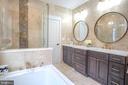 Three Piece Master bath - 1812 N BARTON ST, ARLINGTON