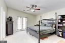 Master Bedroom - 6606 FORSYTHIA ST, SPRINGFIELD