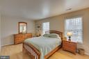 Master bedroom - 13855 GREY COLT DR, NORTH POTOMAC
