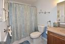 Hall bath - 15700 CRANBERRY CT, DUMFRIES