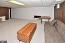 Spacious bonus room in basement - 15700 CRANBERRY CT, DUMFRIES