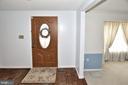 Spacious foyer - 15700 CRANBERRY CT, DUMFRIES