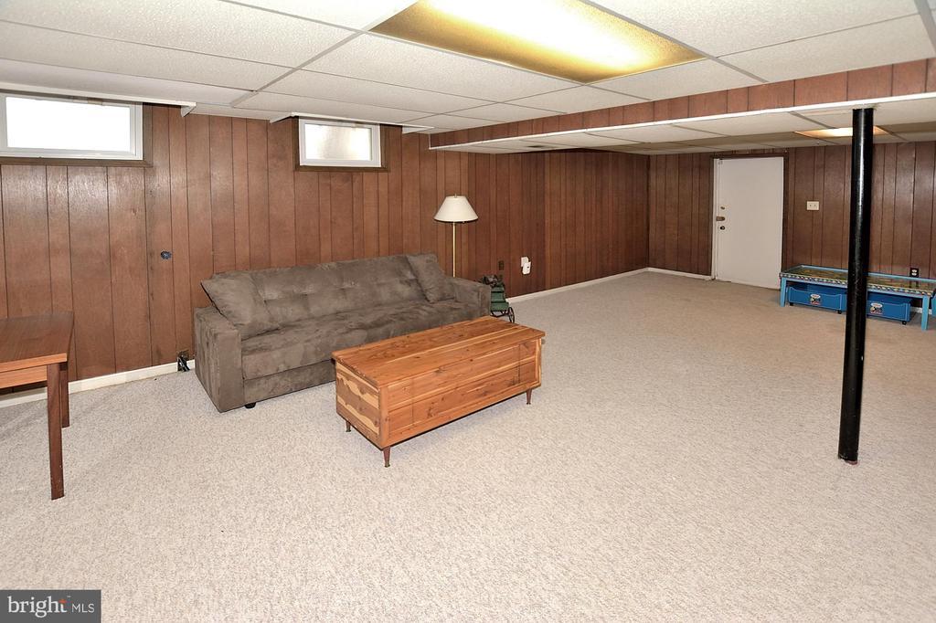 Walkup basement - 15700 CRANBERRY CT, DUMFRIES