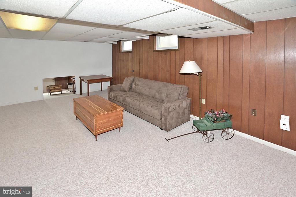 Basement bonus room - 15700 CRANBERRY CT, DUMFRIES