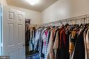 Master Bedroom ( Closet) - 22960 REGENT TER, STERLING
