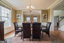 Dining Room off Front Hallway - 10901 DEER MEADOW CT, NOKESVILLE
