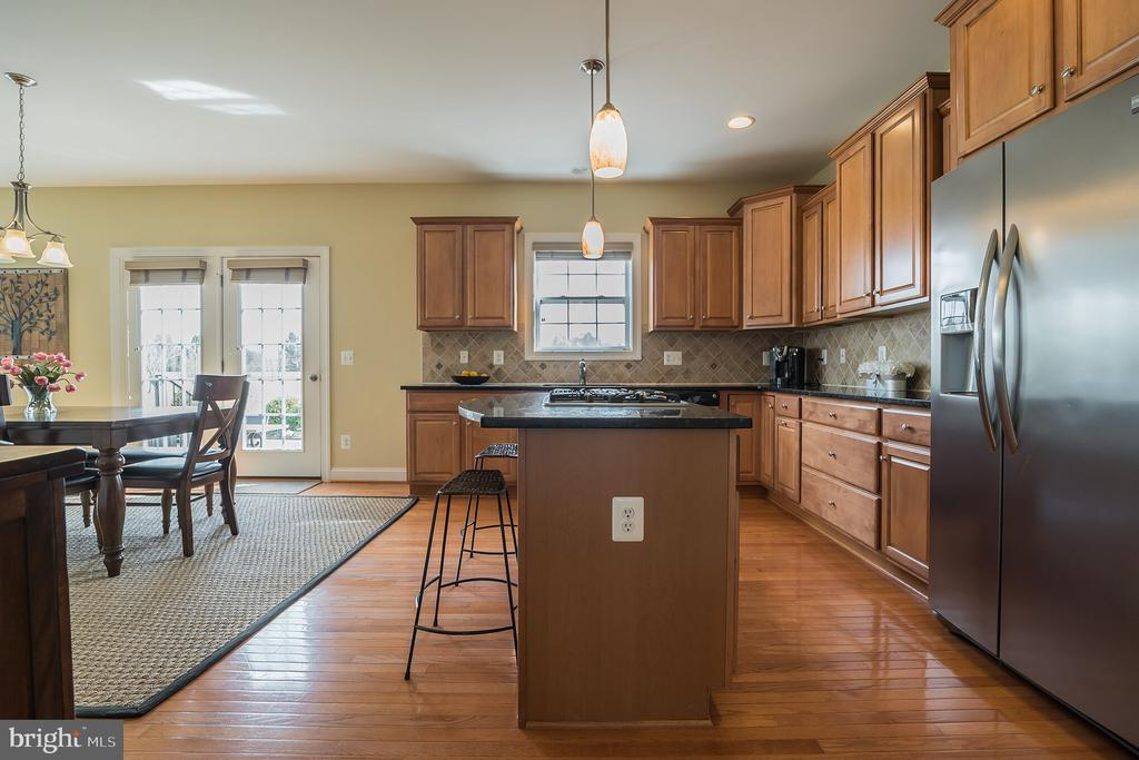Granite Counter Tops - Cherry Cabinets - 10901 DEER MEADOW CT, NOKESVILLE