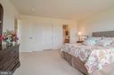 Bedroom 4 with Walk-in Closet - 10901 DEER MEADOW CT, NOKESVILLE