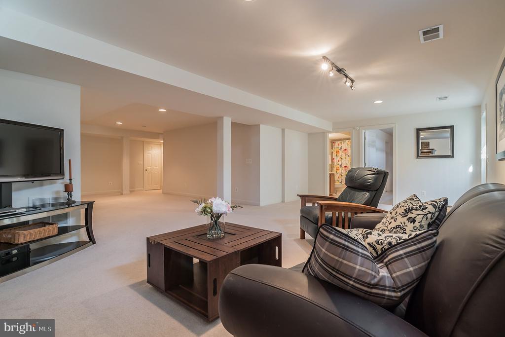 Great Room in Basement - 600+ Sq Feet - 10901 DEER MEADOW CT, NOKESVILLE